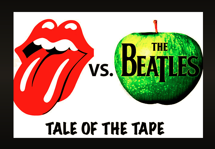 Stones:Beatles Tale of Tape